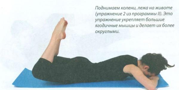 ягодичные мышцы упражнения