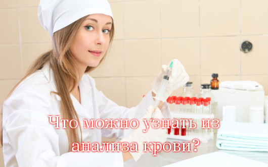 Что можно узнать из анализа крови?