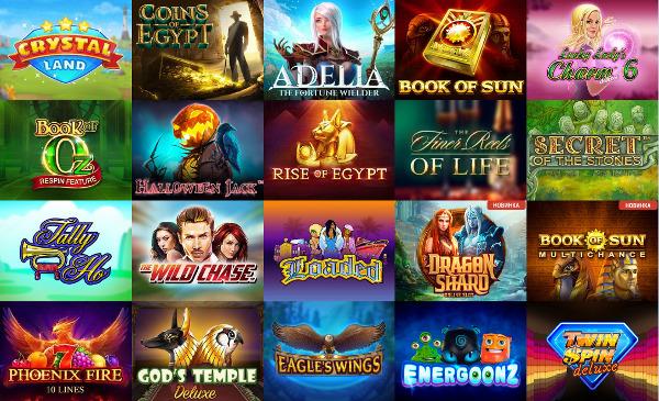 Казино Чемпион онлайн: приятные бонусы и множество азартных игр