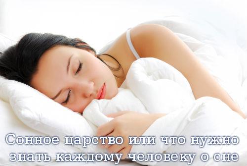 Сонное царство или что нужно знать каждому человеку о сне