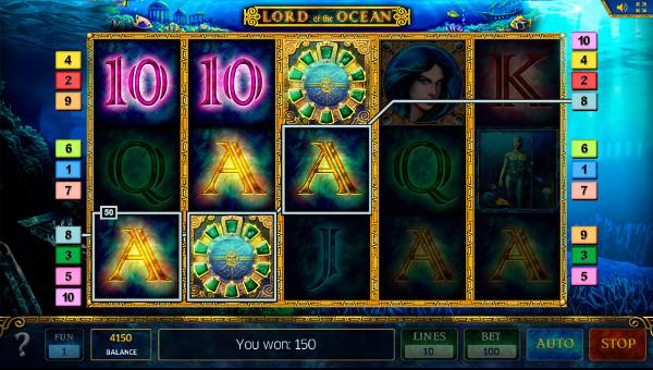 Игровой автомат Lord Of The Ocean - играйте на сайт казино Вулкан Платинум онлайн