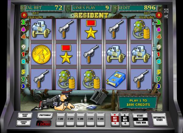 Игровой автомат Resident - играть в казино Вулкан Миллион онлайн