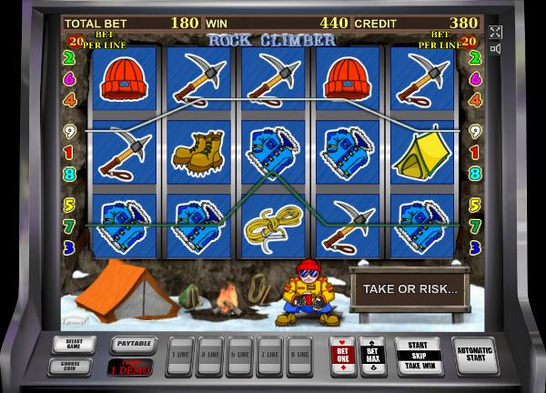 Игровой автомат Rock Climber - стань финансово независимым с помощью Вулкан казино