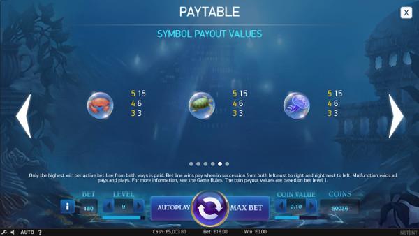 Игровой автомат Secrets of Atlantis - в казино Вулкан Платинум играть в слоты НетЕнт