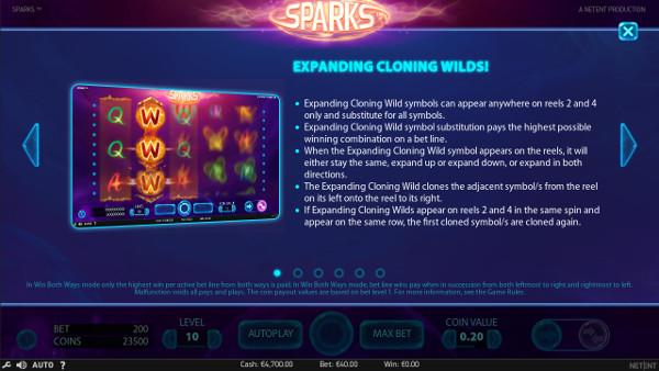 Игровой автомат Sparks - в слоты от НетЕнт играть онлайн в Вулкан казино