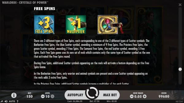 Игровой автомат Warlords: Crystals of Power - в Вулкан казино играй без регистрации