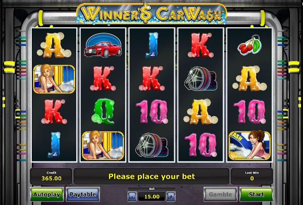 Игровой автомат Winner's Car Wash - выигрыши в казино Чемпион гарантированы