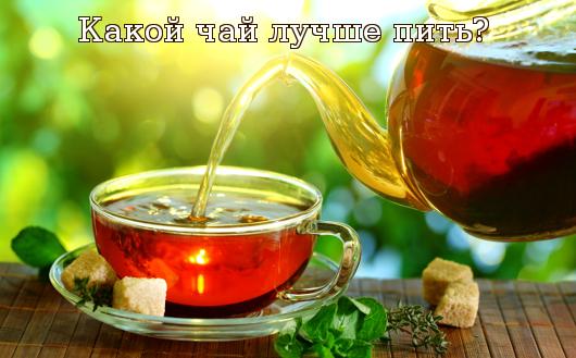 Какой чай лучше пить?